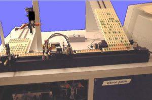 LCD Anzeige Prüfsystem